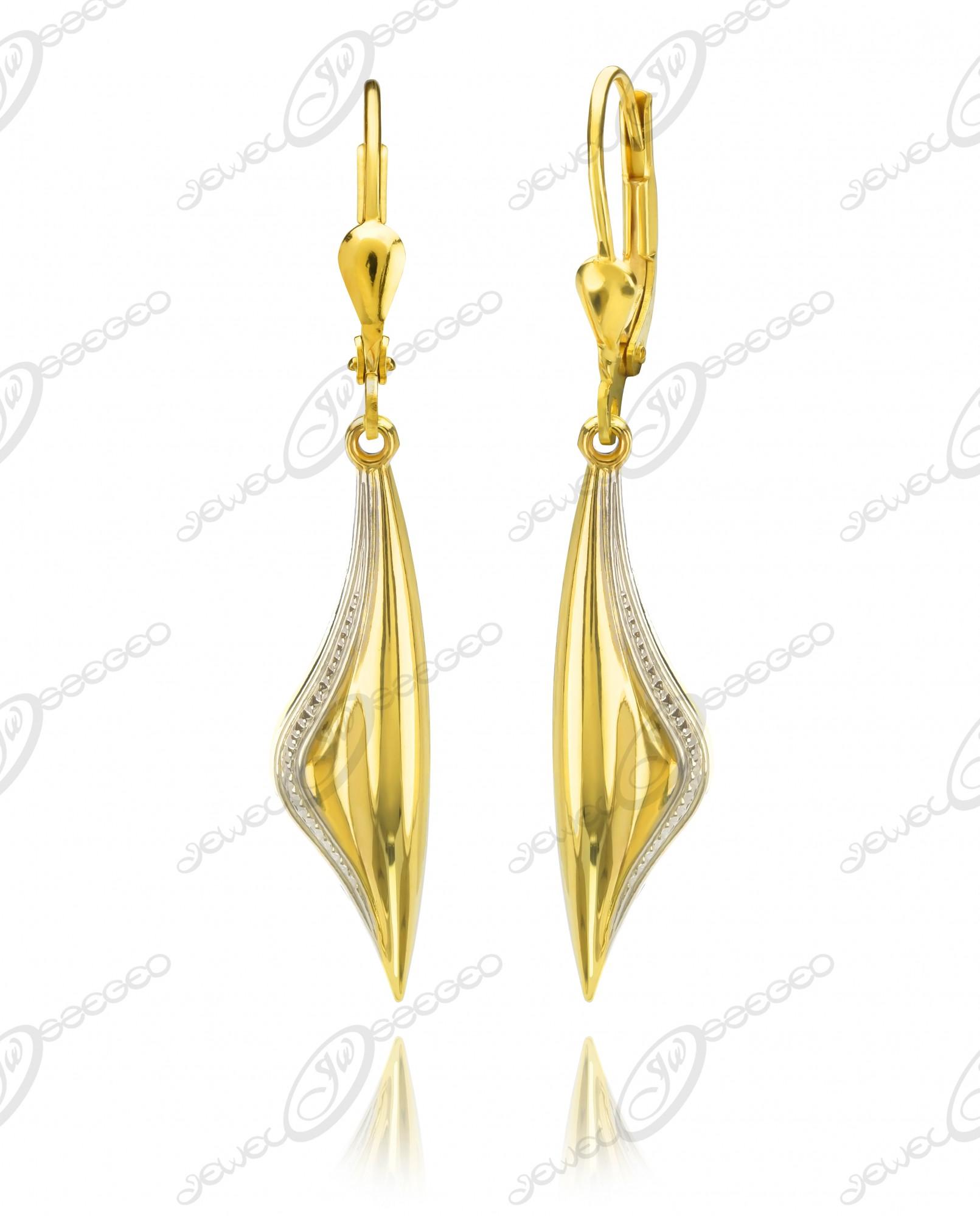 b7b1f5ccda Elegáns női arany fülbevaló - arany ékszer :: Jewel Ékszerkészítő  Manufaktúra