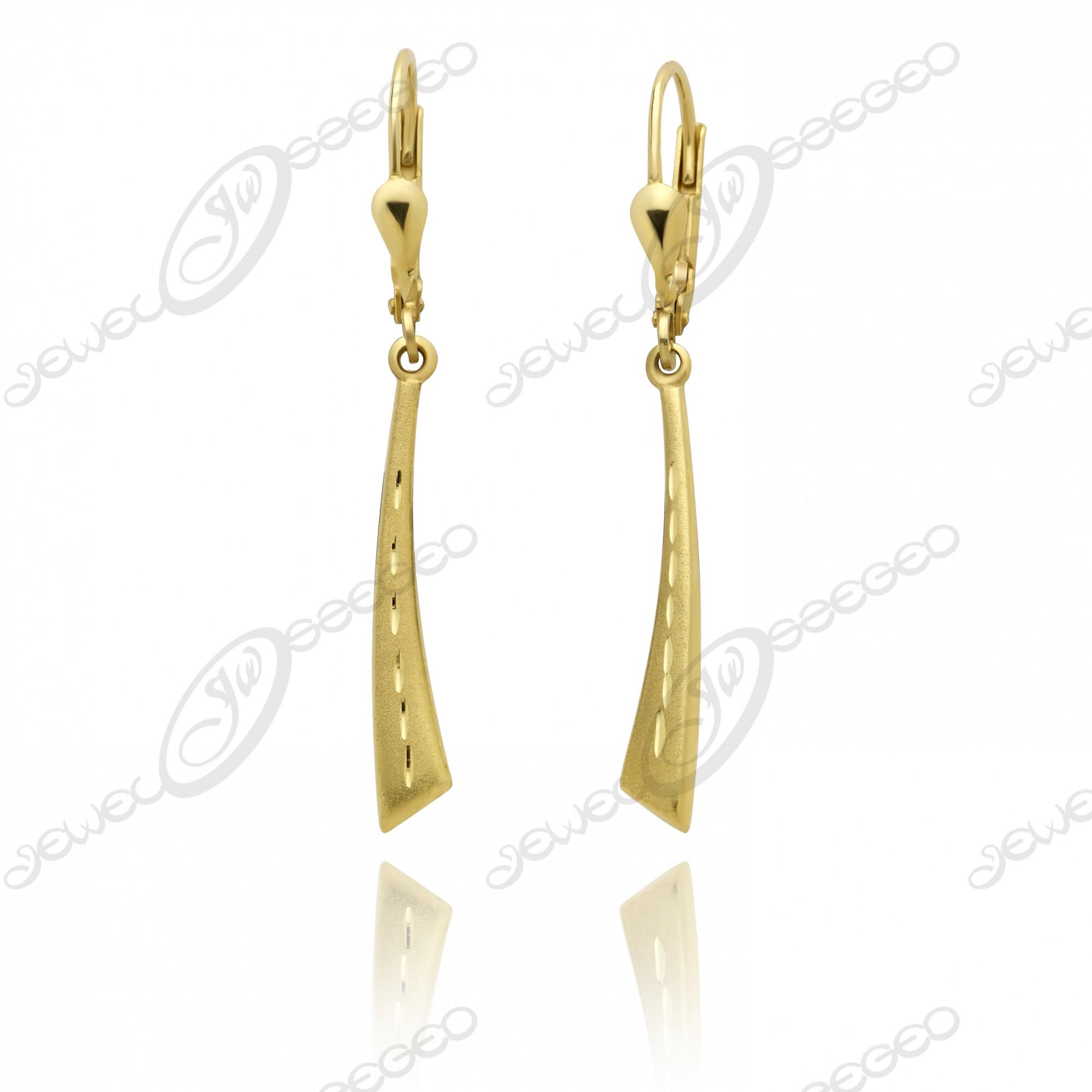 ce27e0bff2 Női lógós fülbevaló - arany ékszerek, ezüst ékszerek :: Jewel Ékszerkészítő  Manufaktúra