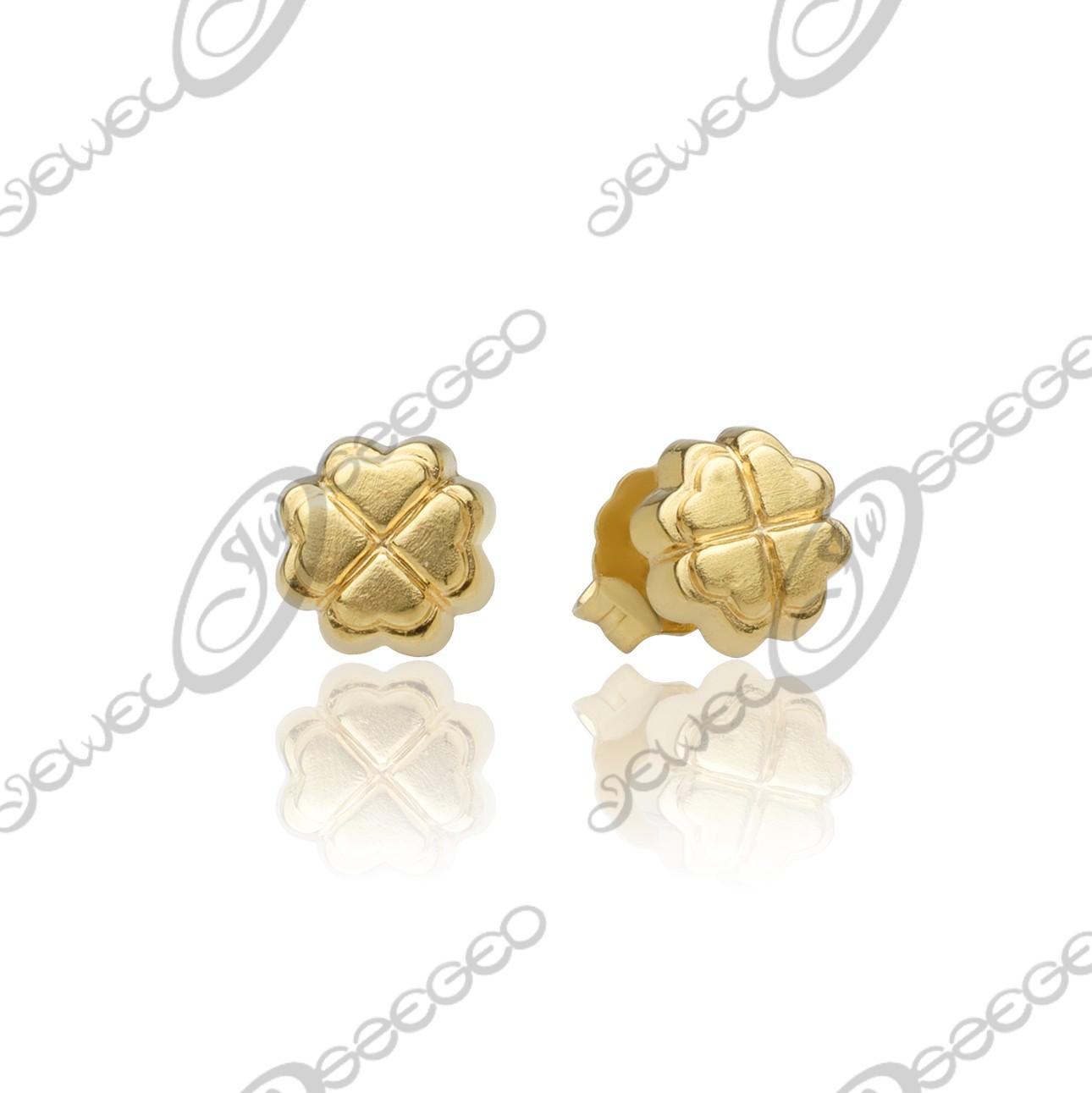 287f4fd0b2 Szerencse fülbevaló - arany fülbevaló :: Jewel Ékszerkészítő Manufaktúra